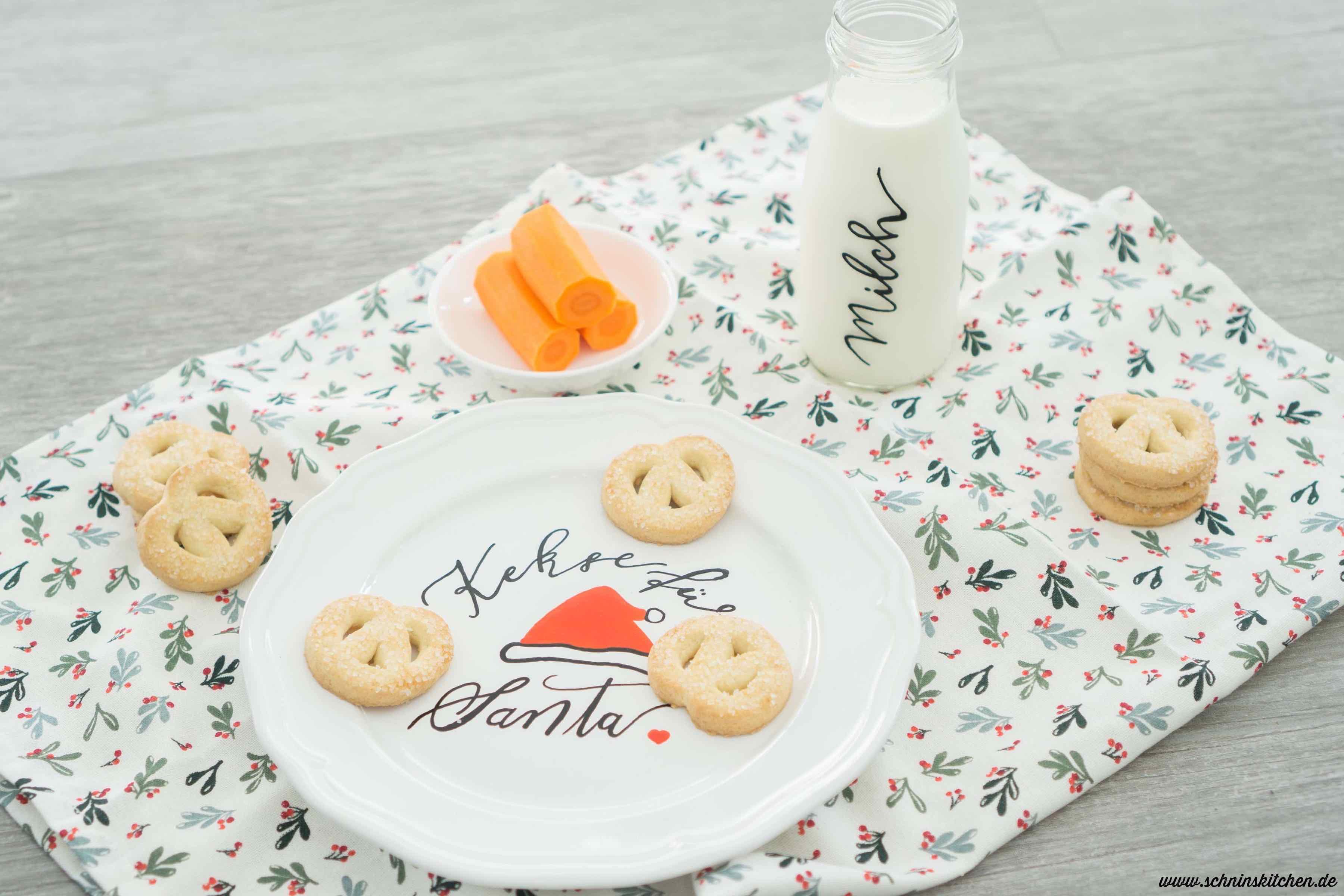 DIY Kekse für den Weihnachtsmann