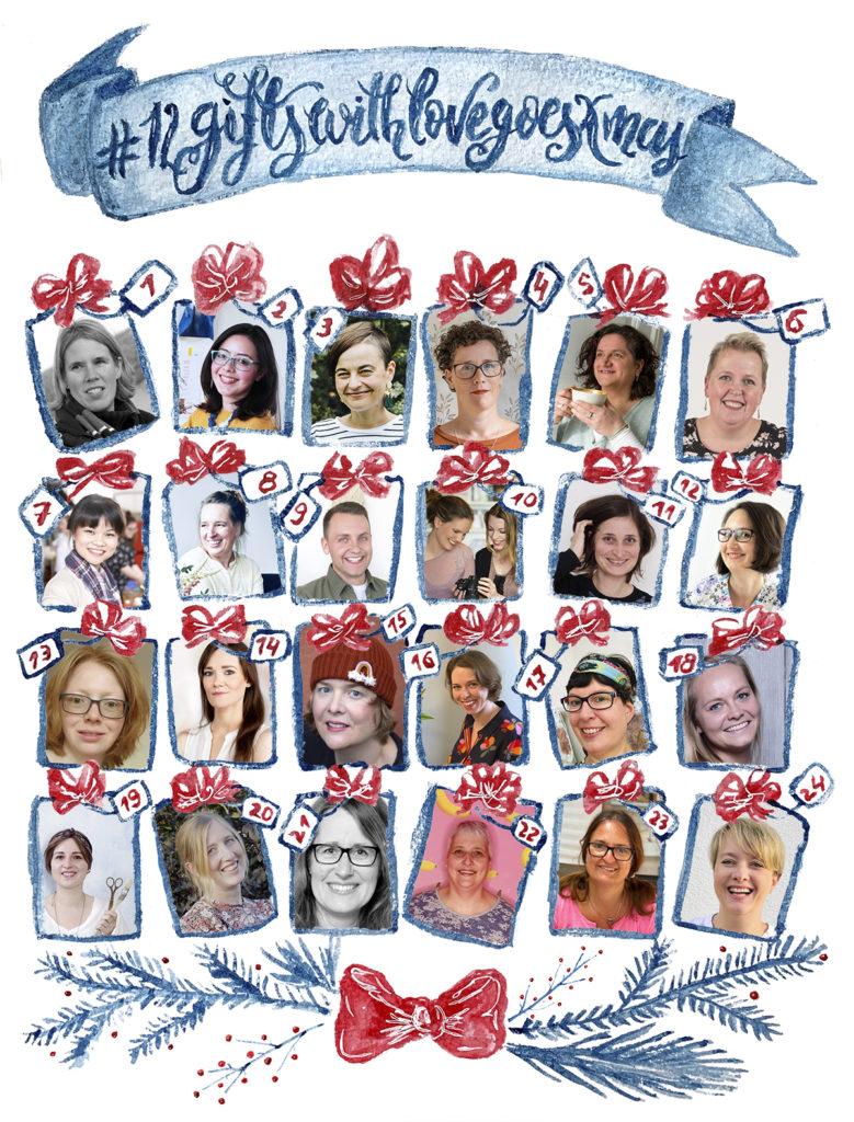 Collage2020 12GIFTSWITHLOVEgoesXMAS