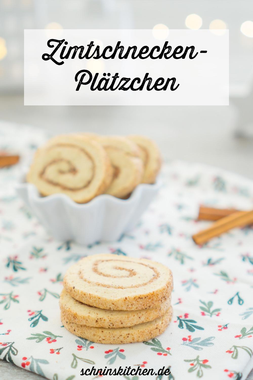 Zimtschnecken-Plätzchen - ein leckeres Backrezept für zimtige Weihnachtsplätzchen. Schnell, einfach & einfach lecker. | www.schninskitchen.de